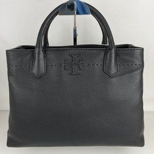 New Tory Burch McGraw Triple Compartment Satchel